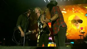 Watch Guns n' Roses Release Pro-Shot Video Of Curfew-Breaking Performance