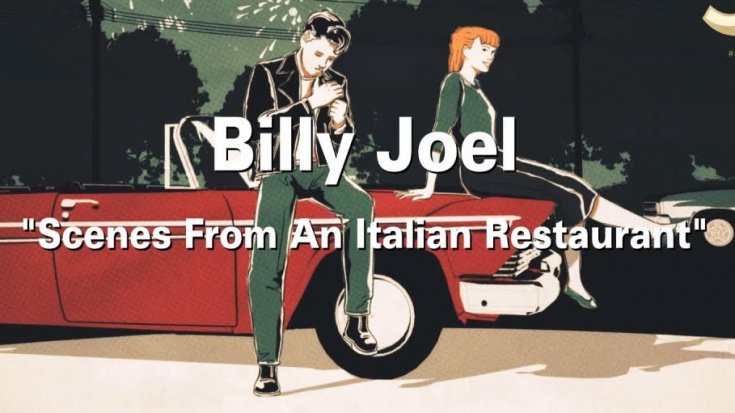 """Watch Billy Joel's 1977 """"Scenes From an Italian Restaurant"""" New Animated Video 