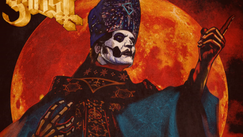 Ghost Release New Song For Horror Movie 'Hunter's Moon' | Society Of Rock Videos