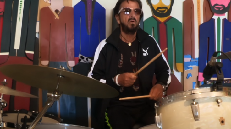 """Ringo Starr Came Together With Over A Hundred Drummers To Play """"Come Together""""   Society Of Rock Videos"""