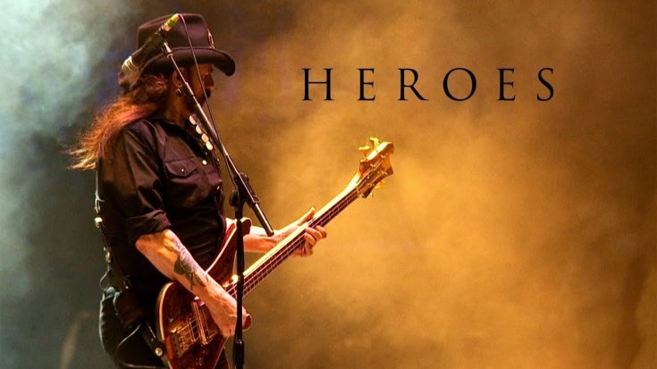 Motorhead's Cover Of 'Heroes' By David Bowie Reaches New Milestone | Society Of Rock Videos